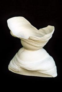 Palkó Ernő • Grafiterra • porcelain 1300 °C • 72×44×28 cm