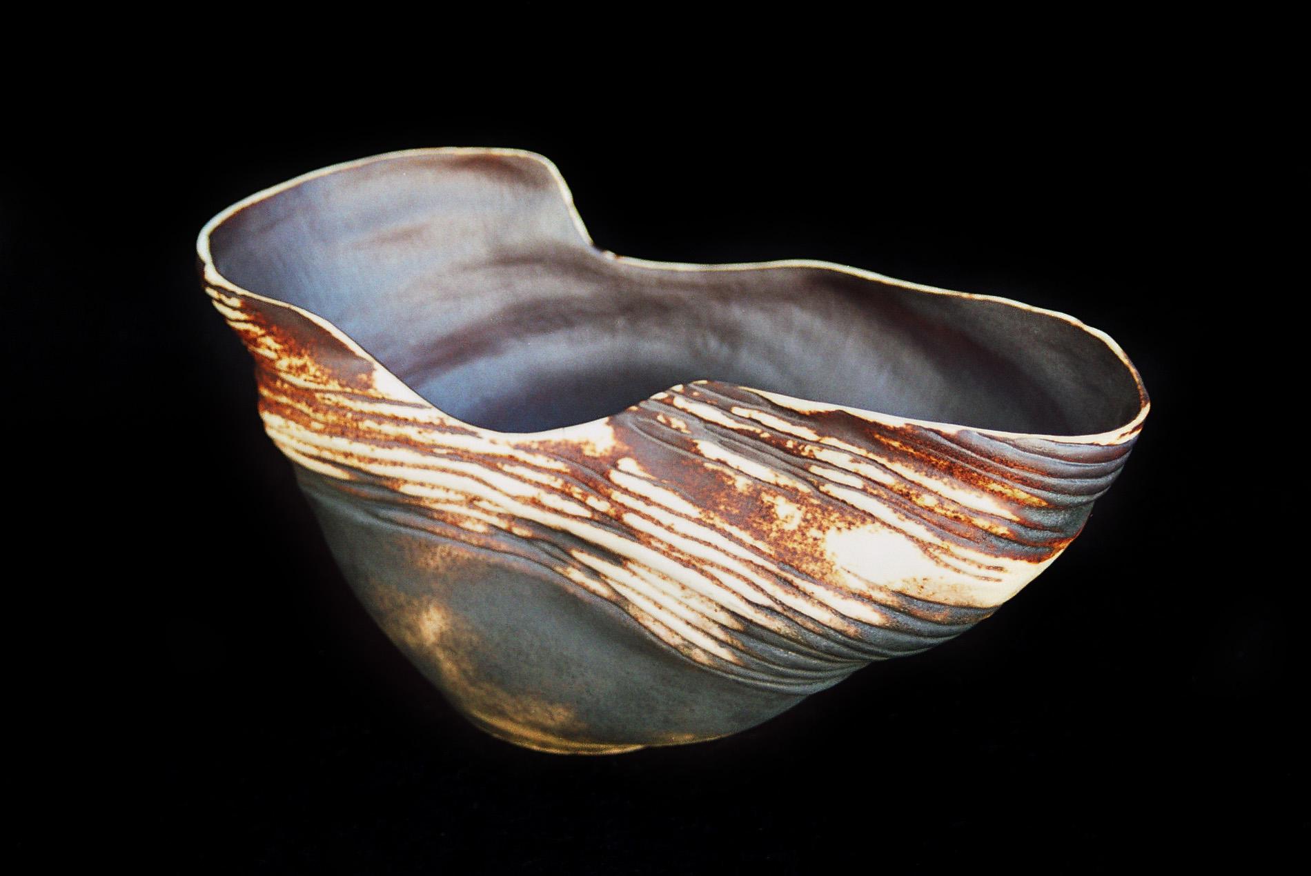 Palkó Ernő • Antique object • coloured porcelain 1300 °C • 24×35×22 cm